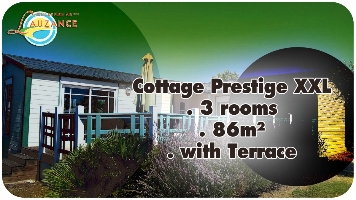 "Location Cottage ""PRESTIGE"" - 3 rooms 86m² with terrace"